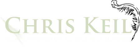 Chris Keil - Editor, academic and critically acclaimed British author of contemporary fiction.